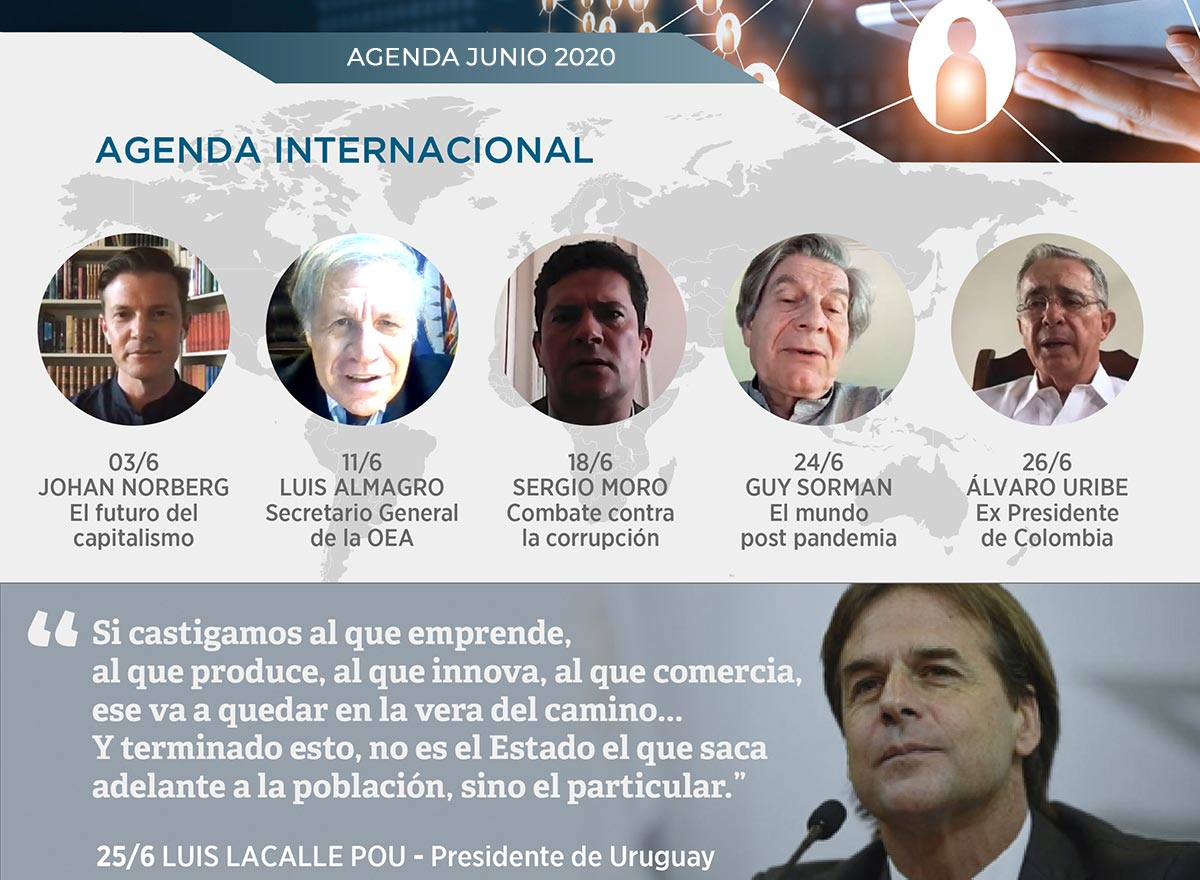 Agenda Internacional - Junio 2020