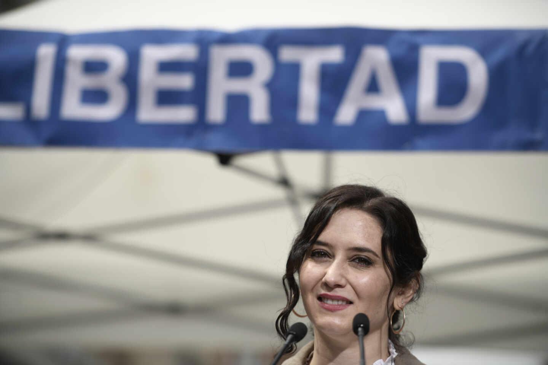 Isabel Díaz Ayuso, defensora de la Libertad